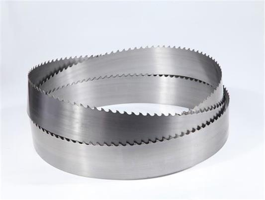 Alloy vertical band saw blade