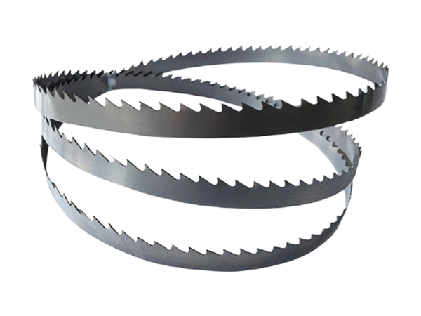 Conventional woodworking band saw blade